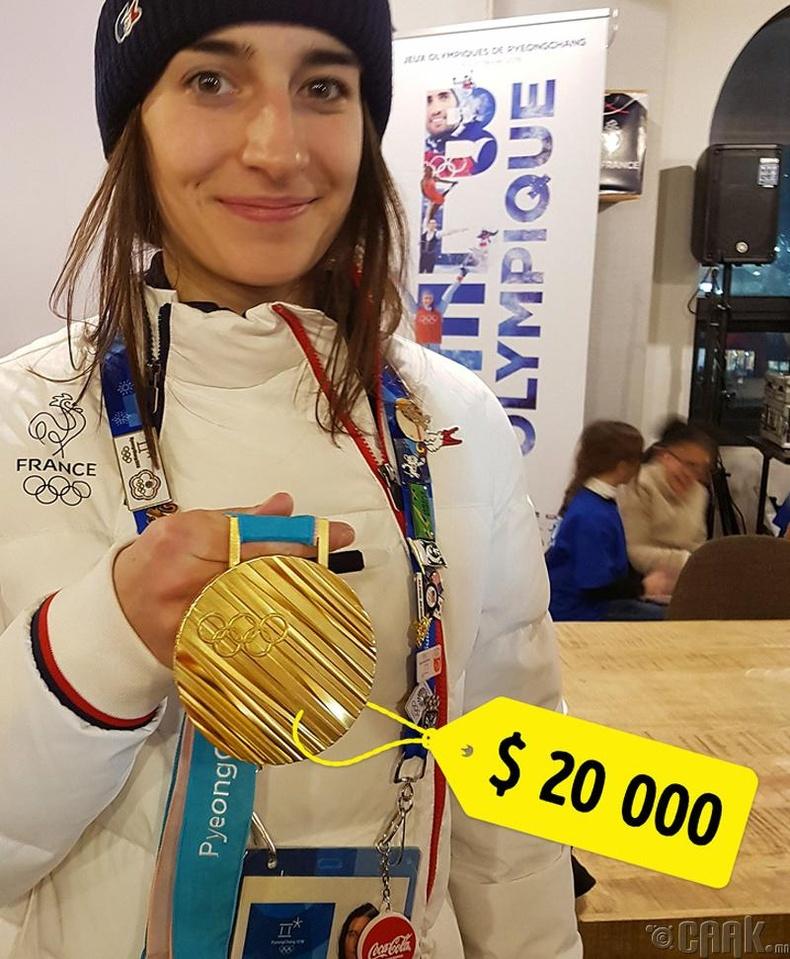 Олимпийн медаль ямар үнэтэй байдаг вэ?