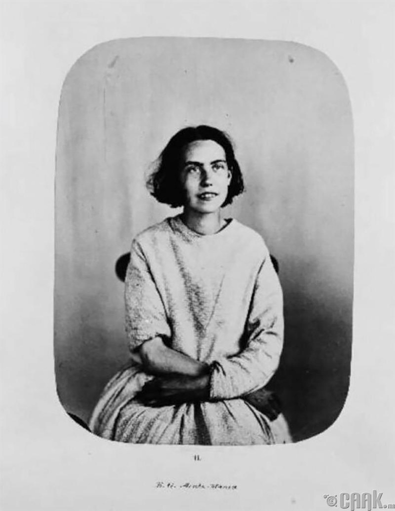 """Элиза Гриппин - 1855 онд """"хурц хэлбэрийн галзуу"""" өвчнөөр хэвтсэн"""