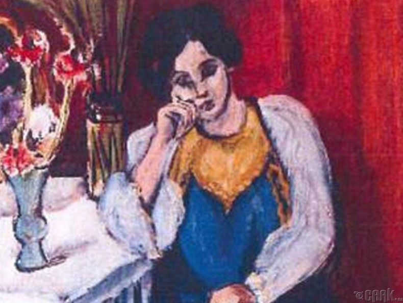 """Цагаан шаргал хувцастай, ном уншиж буй охин"" (Reading Girl in White and Yellow | Henri Matisse)"