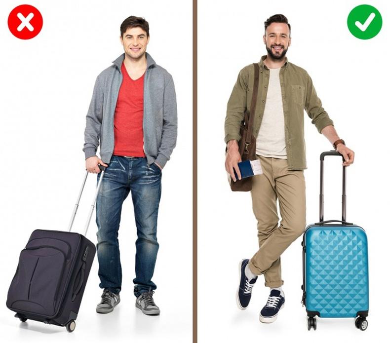 Ачаагаа хамгийн сүүлд өгөөрэй, бас эмэгтэй загварын чемодан сонгоорой