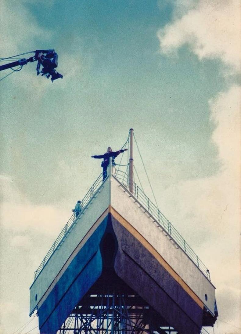 Титаник киноны зураг авалт - 1997 он