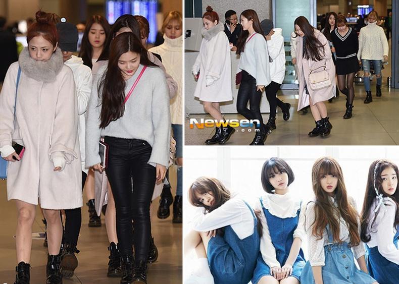 Солонгос охидын хамтлагийг хил нэвтрүүлсэнгүй