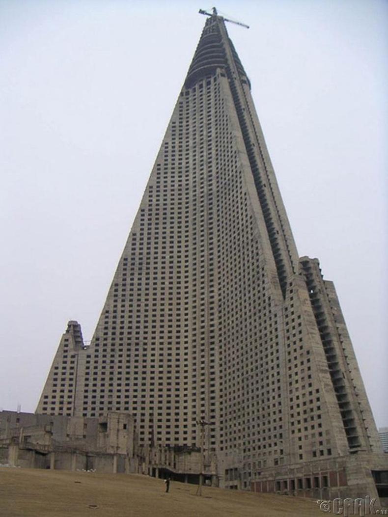 Ругион зочид буудал, Пхенянь - 2008 он