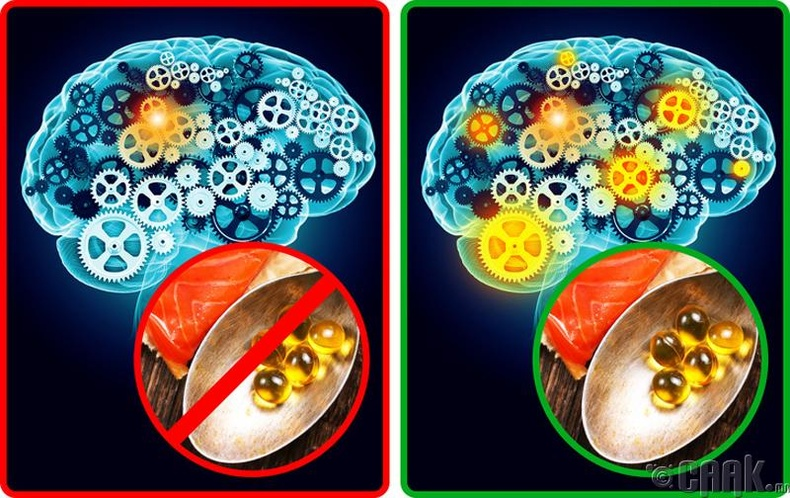 Ой тогтоолтыг сайжруулж мэдрэлийн тогтолцоонд эергээр нөлөөлдөг