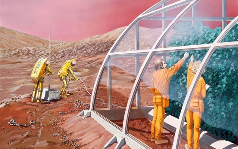 Нарны аймгийн гаригууд дээр амьдрахын тулд хүн төрөлхтөн юу хийх шаардлагатай вэ?