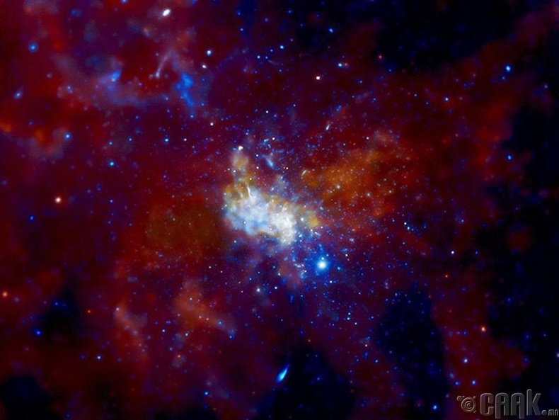Галактикийн төвд оршино