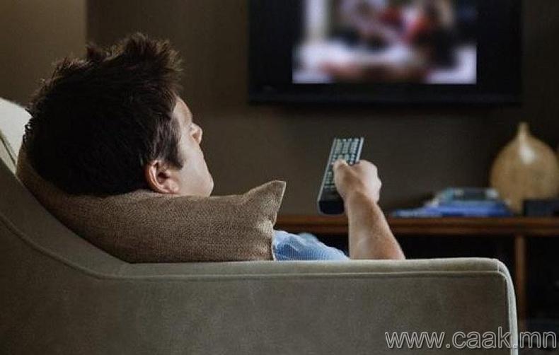 Батарей нь суусан үед зурагтын удирдлагыг товчлуур дээр нь хүчтэй дарах.
