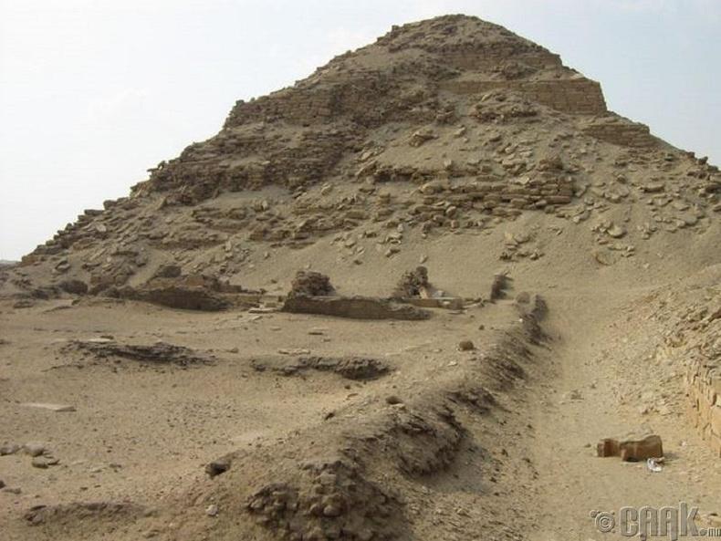 Бүх пирамид ижилхэн биш