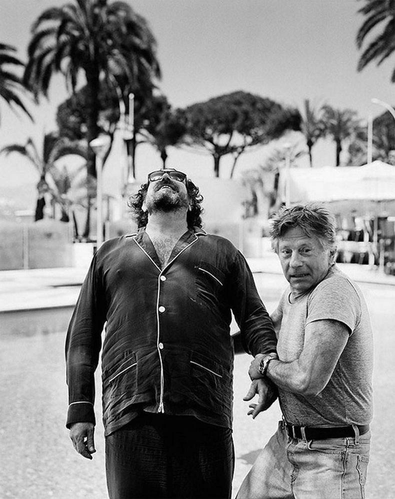 Зураач, кино уран бүтээлч Жулиан Шнабел болон жүжигчин, найруулагч Роман Полански
