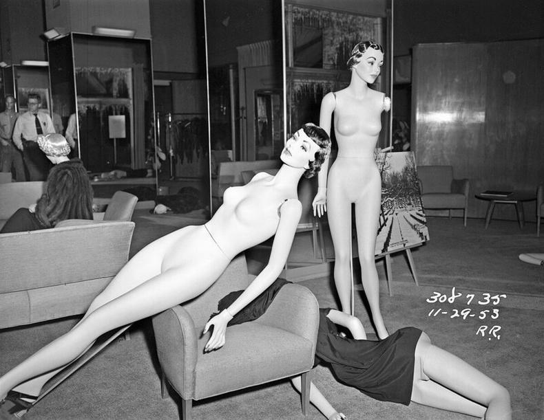 Дээрэмдүүлсэн үслэг эдлэлийн дэлгүүр, 1953 оны 11р сарын 29