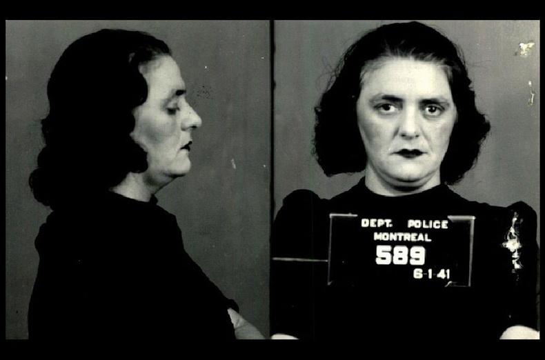 Анни Паркер 1941 онд баривчлагдсан.