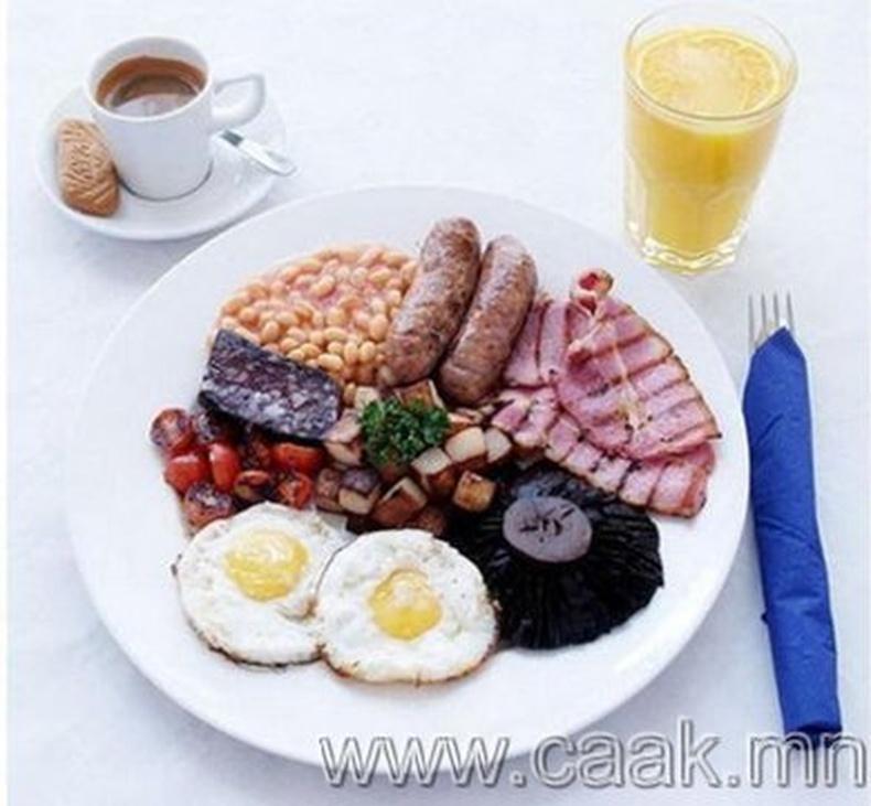 Олон үндэстний өглөөний цай