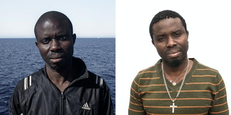Блез. Сенегал улсаас гаралтай