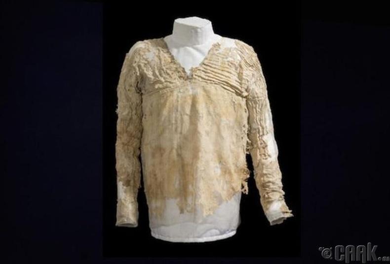 Дэлхийн хамгийн хуучин хувцас