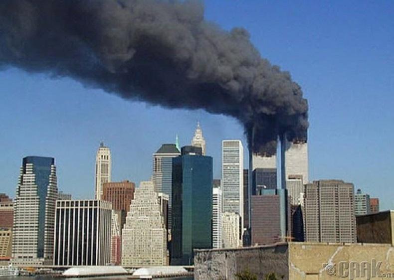 Жорж Буш болон есдүгээр сарын 11