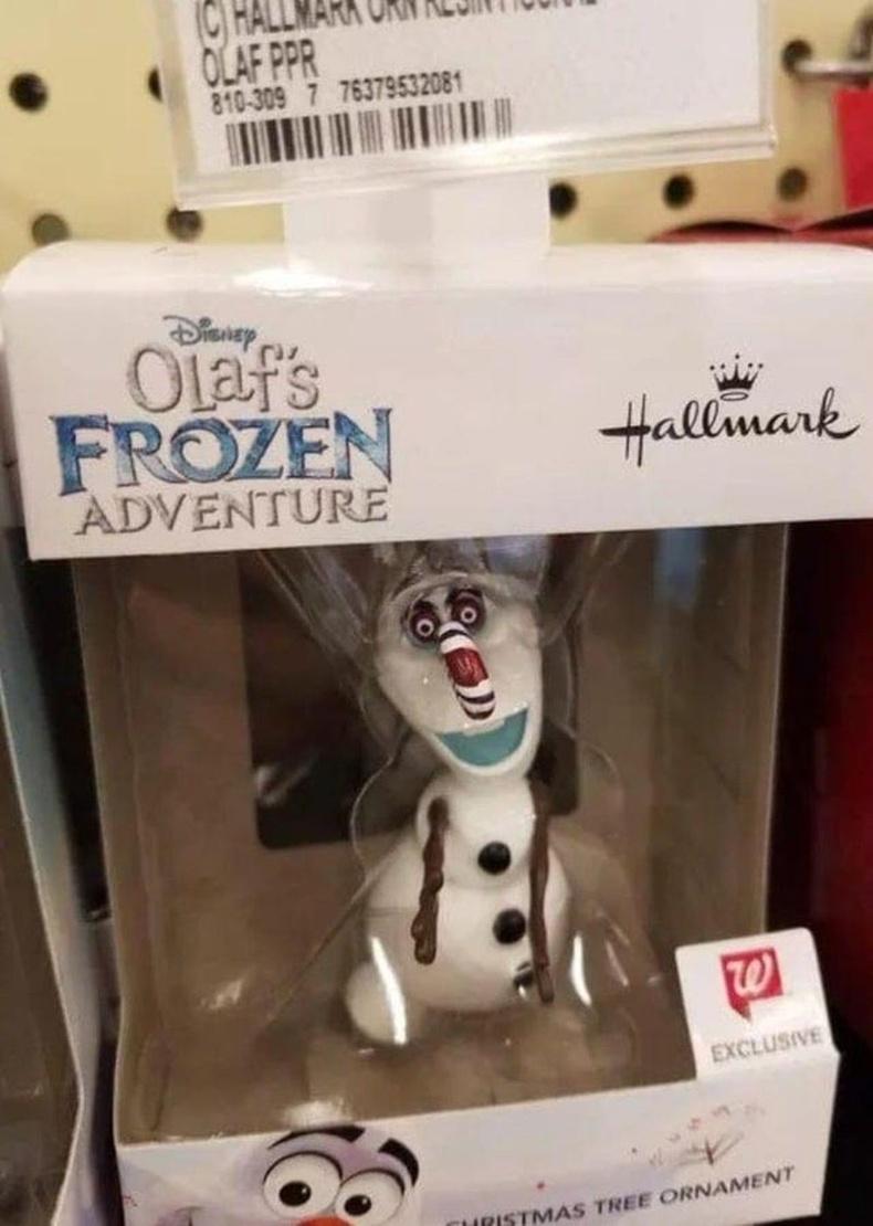 Олаф, чамд юу тохиолдсон юм бэ?