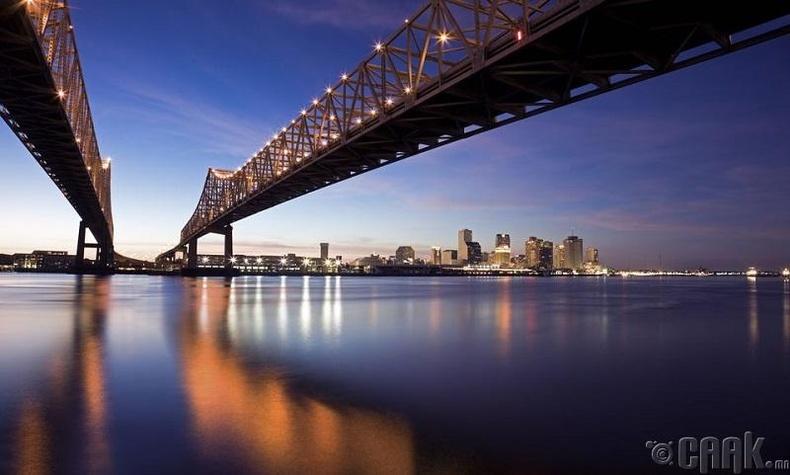 Миссисипи мөрөн бол АНУ-ын хамгийн урт мөрөн - Худал