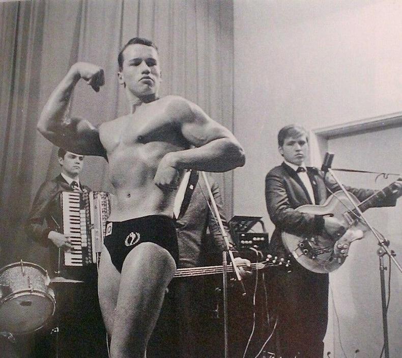 Арнольд Шварценеггер, 1963 он
