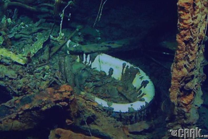 """2012 онд """"Титаник""""-ийн сүйрсэн газрын зургийг бүрэн зуржээ"""