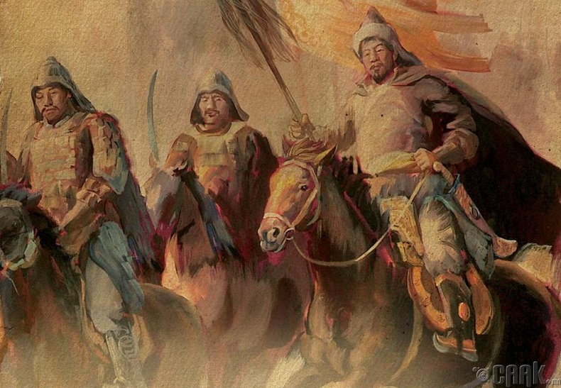 Бат хааны алтан морь