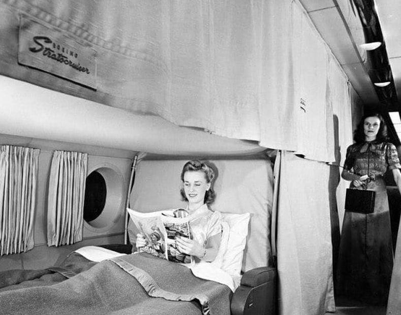 """""""Boeing 377 Stratocruiser"""" онгоцны нэгдүгээр зэрэглэлийн хэсэг, 1952"""