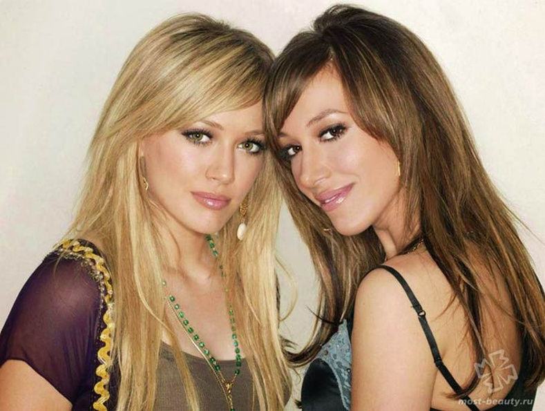 Хейли ба Хилари Дафф (Hayley, Hilary Duff)