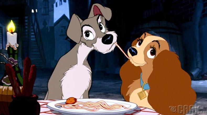 Хатагтай ба Тэнүүлч хүүхэлдэйн киноны спагеттитэй хэсэгт Волт Дисней дургүй байжээ