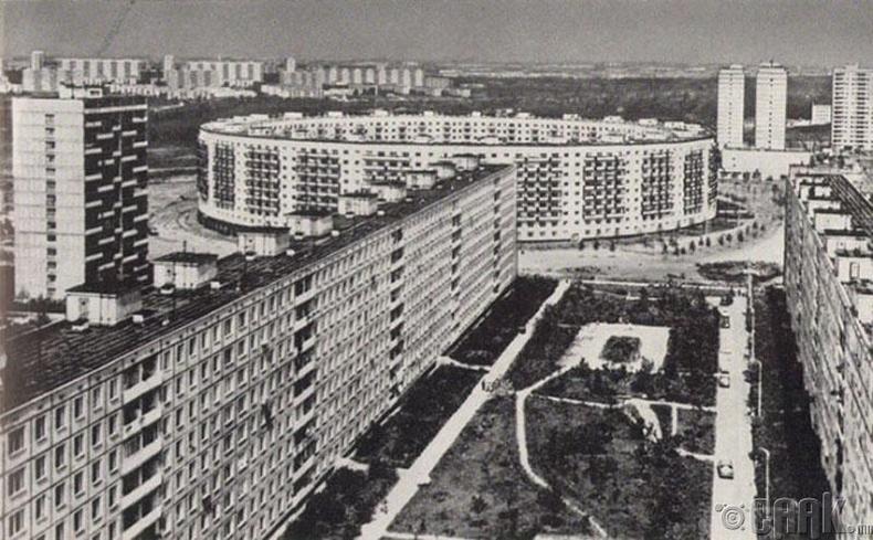 Матвеевское дүүрэг дэх тойрог хэлбэртэй орон сууц, Москва, ОХУ