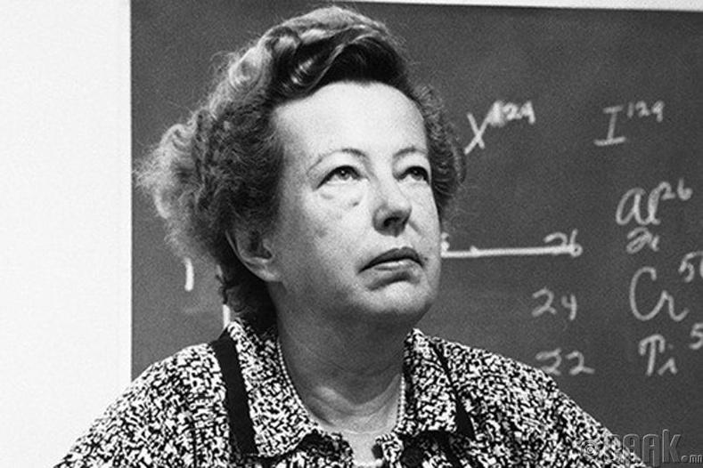 Мариа Гёпперт-Майер (Maria Goeppert-Mayer), 1906-1972