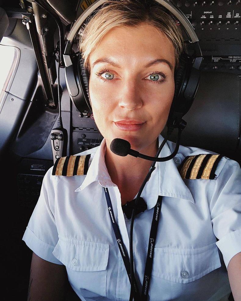 Австрийн нисгэгч Мариа Петрссон