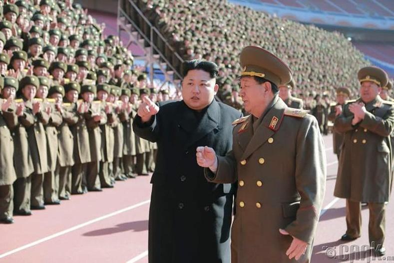 Хойд Солонгос дахь хүн дээр хийсэн туршилт