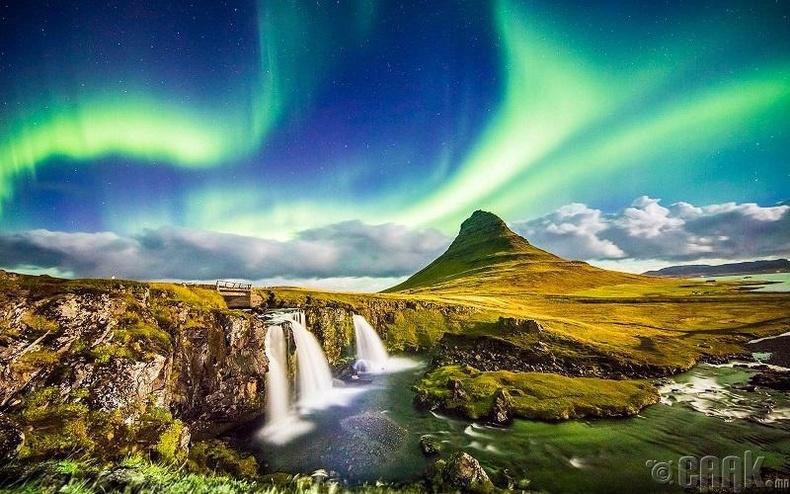 Исланд нь мөс цасаар хучигдсан - Худал