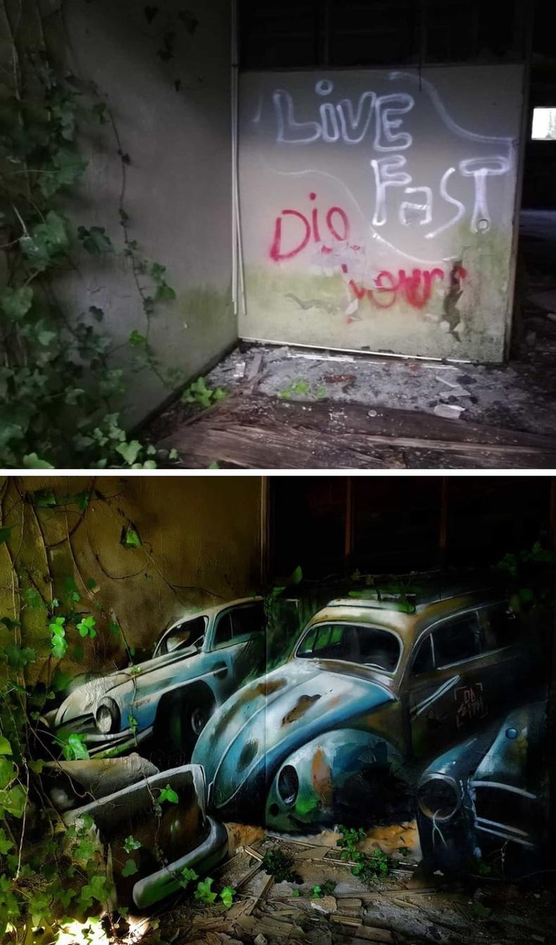 Хаягдсан машинууд