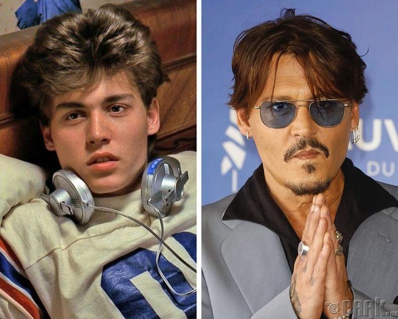 Жүжигчин Жонни Депп (Johnny Depp) - 56 настай