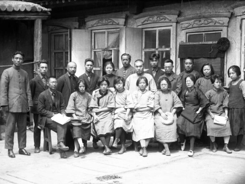 Хүрээнд байсан япон иргэд - 1910 он