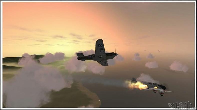 """P-40 нисэх онгоц"""