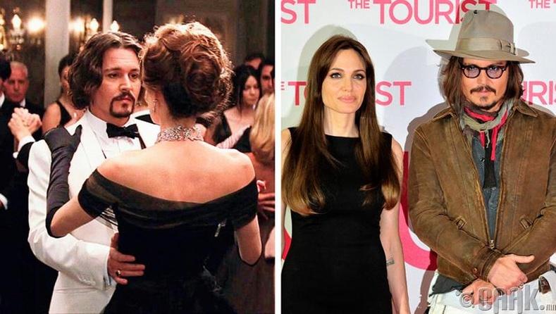 Анжелина Жоли (Angelina Jolie) болон Жонни Депп (Johnny Depp)
