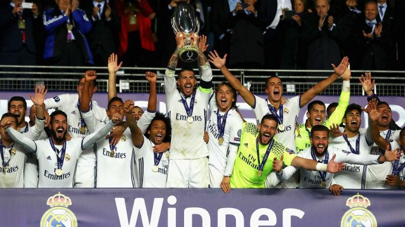 Эзэн хааны Реал Мадрид клуб УЕФА-гийн Супер цомын эзэд боллоо
