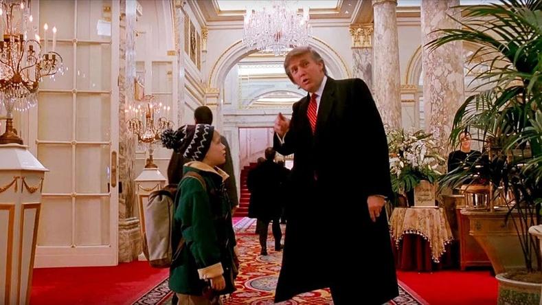 "Дональд Трамп (Donald Trump) - ""Home Alone 2"""