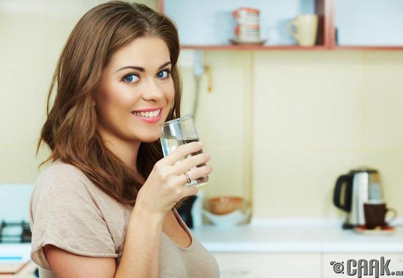 Ам цангахгүй бол заавал ус уух хэрэгтэй юу?
