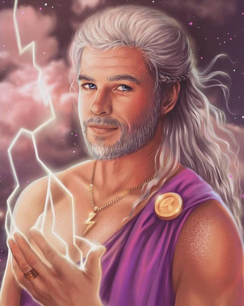 Крис Хемсворт Зевсийн дүрд (Hercules)