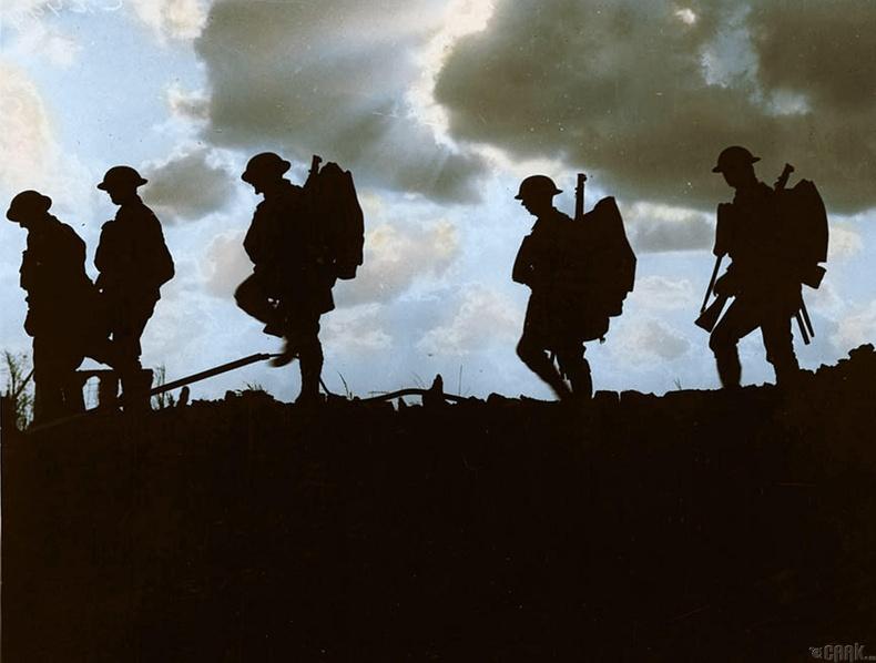 Йоркширын явган цэргийн салааны дайчид