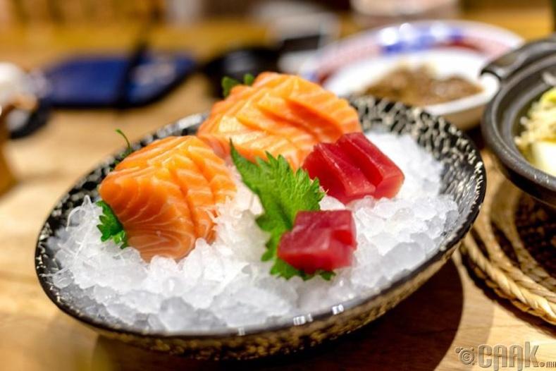 Загас болон далайн бүтээгдэхүүн