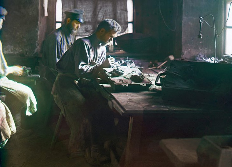 Уралын нуруунд амьдардаг дархчууд - 1910 он
