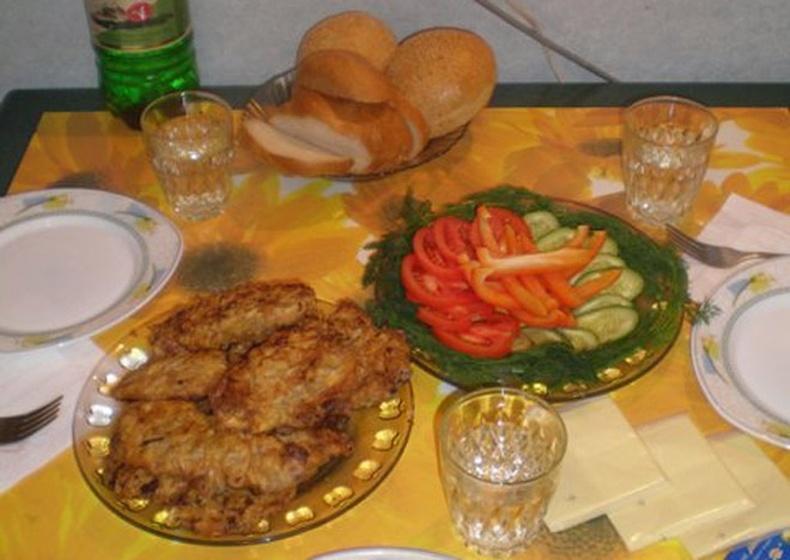 Хаврын оройн зоог