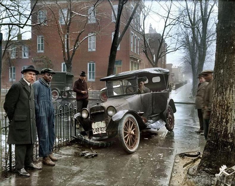 Осолд орсон автомашины өнгөт болгосон зураг - Вашингтон, АНУ, 1921 он