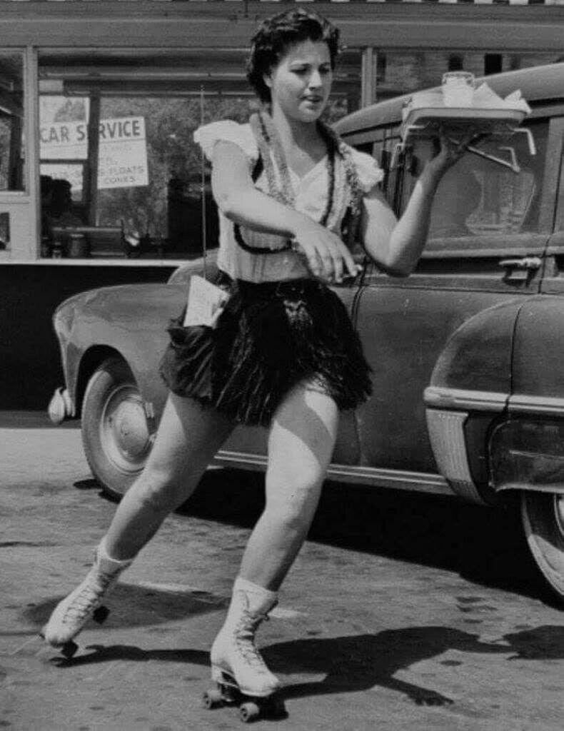 Роликтай зөөгч, 1950-иад он
