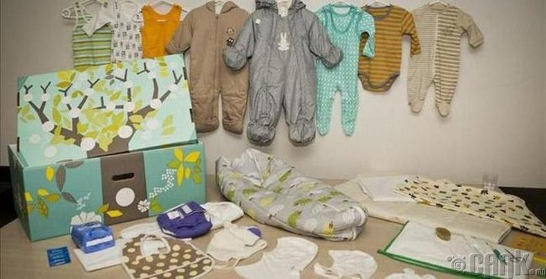 Финланд - Дөнгөж төрсөн эхэд хэрэгцээт бүх зүйлсийг улсаас өгдөг