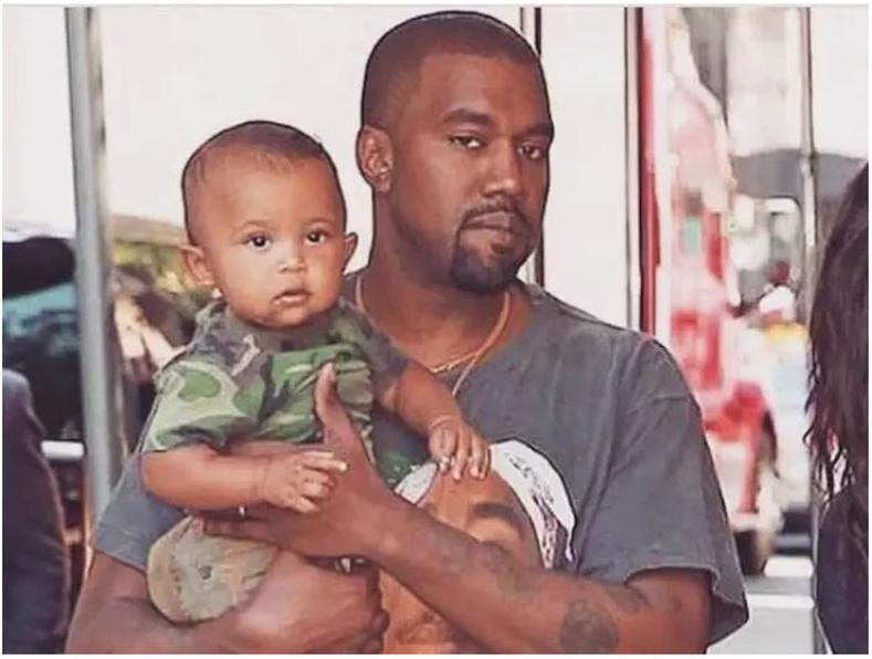 Канье Уэст (Kanye West)-ийн хүү Сэйнт Уэст (Saint West)