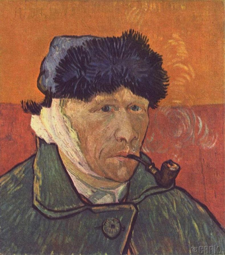"""""""Ван Гог чихээ бүхэлд нь зүссэн"""""""